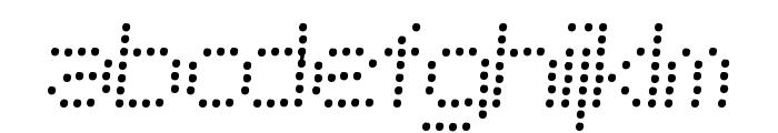 Telegraphic Light Bold Italic Font LOWERCASE