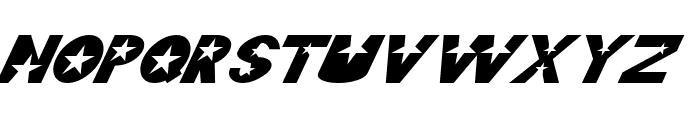 Telemarketing Superstar Italic Font UPPERCASE
