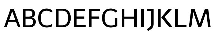 Telex-Regular Font UPPERCASE