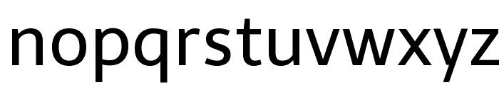 Telex-Regular Font LOWERCASE