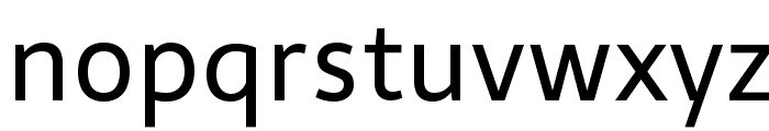 Telex Font LOWERCASE