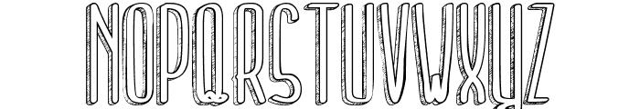 Tell me a secret Font UPPERCASE