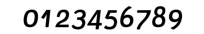 Tellural Italic Font OTHER CHARS