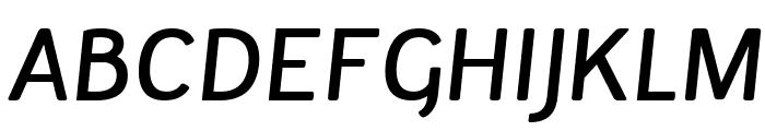 Tellural Italic Font UPPERCASE