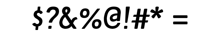 Tellural Regular Italic Font OTHER CHARS