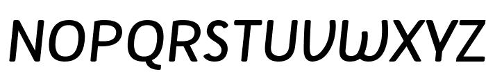 Tellural Regular Italic Font UPPERCASE