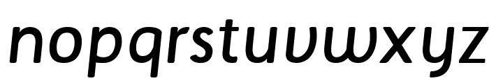 Tellural Regular Italic Font LOWERCASE