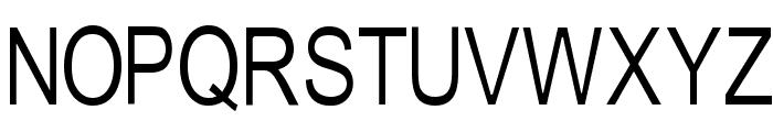Tempest-narrow Font UPPERCASE