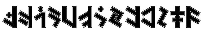 Temphis Sweatermonkey Font UPPERCASE