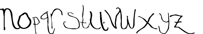 Temple Regular Font LOWERCASE