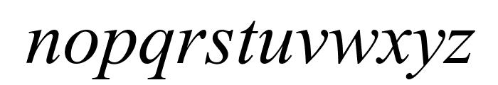 Tempo Esperanto Kursiva Font LOWERCASE