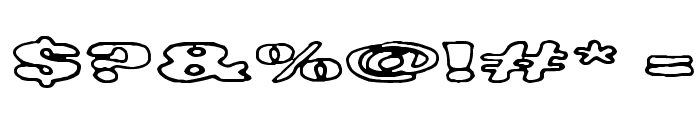 Tempo Minimo Bass Font OTHER CHARS