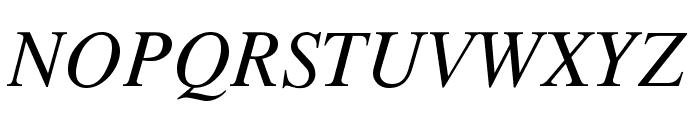 TempoFontItalic Font UPPERCASE