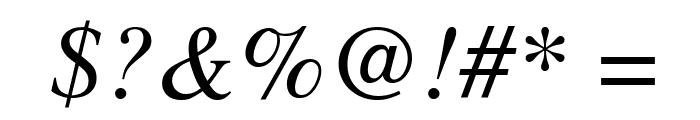 Tempora LGC Unicode Italic Font OTHER CHARS