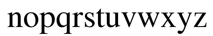 Tempora LGC Unicode Font LOWERCASE