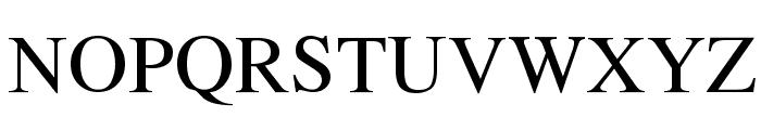 Tempus Regular Font UPPERCASE