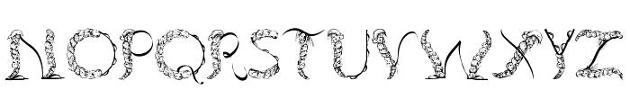 TenCHCeliber Font UPPERCASE