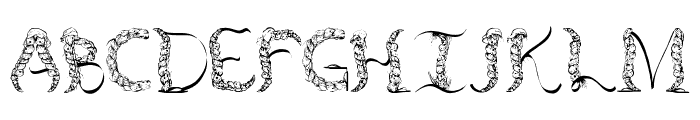 TenCHCeliber Font LOWERCASE