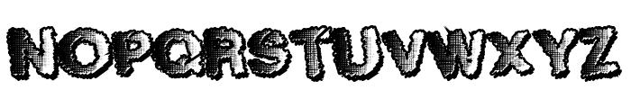 TenFresh Font UPPERCASE