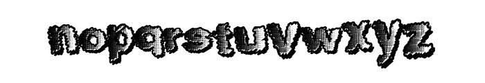 TenFresh Font LOWERCASE
