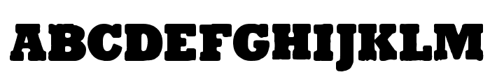 Tender Goliath Small-Caps Font LOWERCASE