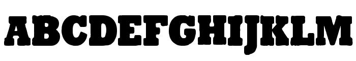 Tender Goliath Font UPPERCASE