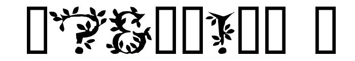 Tenderleaf Font OTHER CHARS