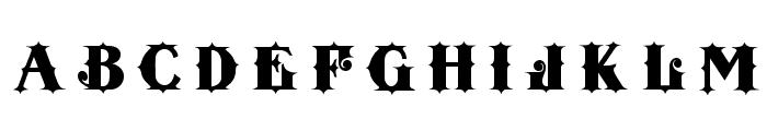 Tenderloin Font UPPERCASE
