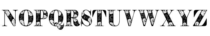 TendrilsPersonalUse Font UPPERCASE