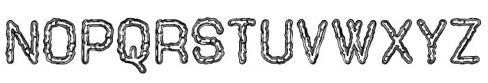 Tenebrous St Font UPPERCASE