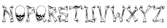 Tengkorak_COE Font LOWERCASE