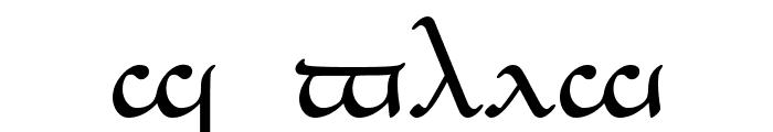 Tengwar_Eldanaro Medium Font UPPERCASE