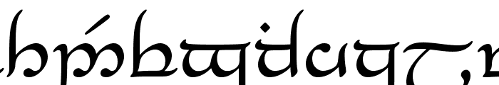 Tengwar_Eldanaro Medium Font LOWERCASE