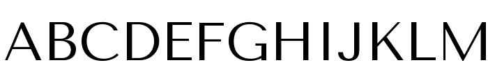 Tenor Sans Font UPPERCASE
