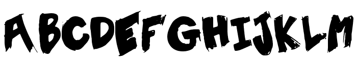 TentSale Font LOWERCASE