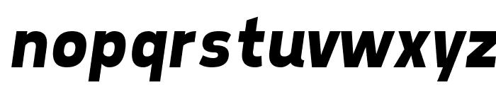 Tepeno Sans Bold Italic Font LOWERCASE