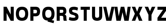 Tepeno Sans Bold Font UPPERCASE