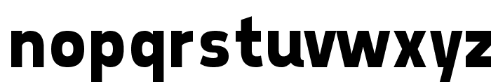 Tepeno Sans Bold Font LOWERCASE