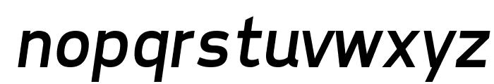 Tepeno Sans Italic Font LOWERCASE