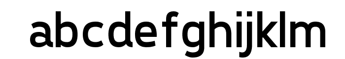 Tepeno Sans Regular Font LOWERCASE