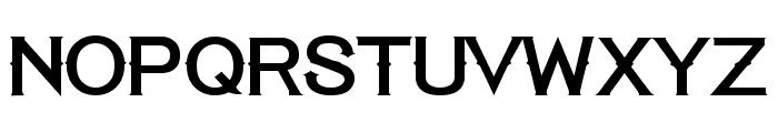 Tequila Sunrise Regular Font UPPERCASE