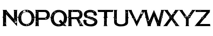 Tequila Sunset Regular Font UPPERCASE
