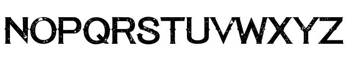 TequilaSunset-Regular Font UPPERCASE