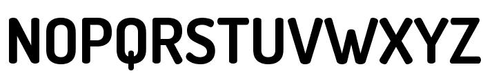 Terminal Dosis Bold Font UPPERCASE