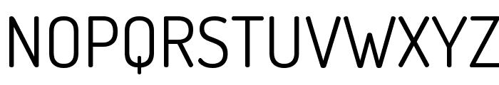 Terminal Dosis Regular Font UPPERCASE