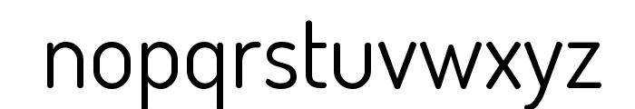 Terminal Dosis Regular Font LOWERCASE