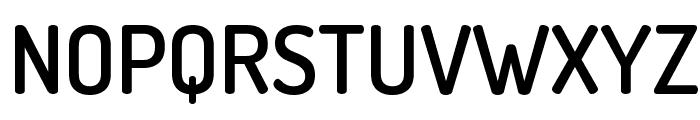 Terminal Dosis SemiBold Font UPPERCASE