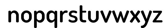 Terminal Dosis SemiBold Font LOWERCASE