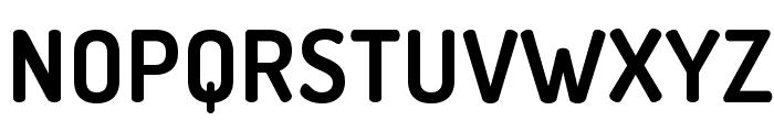 TerminalDosis-Bold Font UPPERCASE