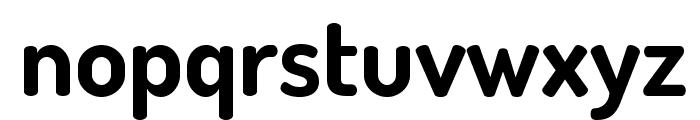 TerminalDosis-Bold Font LOWERCASE